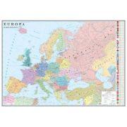 Europa. Harta politica 700x500mm (GHEP70-L) imagine librariadelfin.ro