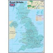 Harta murala Great Britain - Plansa (EP0)