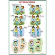 Introduction/The demonstrative pronouns -This is.../Thes are... (DUO) - Plansa viu colorata, cu 2 teme distincte