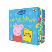 Learn with Peppa Box of Books