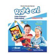 Limba Moderna 1 Engleza Clasa a V-a manual elev + manual digital CD - Jenny Dooley