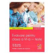Limba si comunicare. Evaluare pentru clasa a VI-a, teste - Elena Sticlea, Alina Hristea