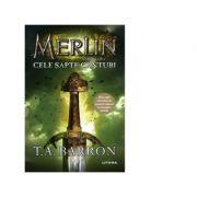 Imagine Merlin - Cele Sapte Canturi - Cartea A Ii-a - T - A - Barron