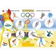 Olimpiada / Probe sportive (DUO) - Plansa cu 2 teme distincte imagine librariadelfin.ro
