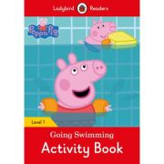 Peppa Pig Going Swimming Activity Book