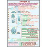 Plansa dubla - Adverbul/ Conjunctia (LR14) imagine librariadelfin.ro