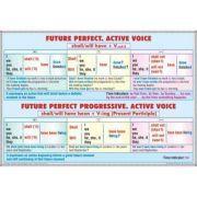 Plansa dubla - Future Perfect. Future Perfect Progressive/ Future simple. Future progressive (EP3) imagine librariadelfin.ro