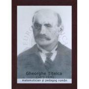 Portret - Gheorghe Titeica, matematician si pedagog roman (PT-GT) imagine librariadelfin.ro