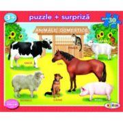 Puzzle Animale domestice imagine librariadelfin.ro