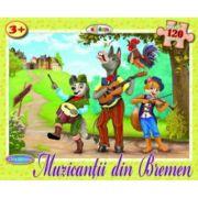 Puzzle Muzicantii din Bremen imagine librariadelfin.ro