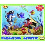 Puzzle Paradisul acvatic imagine librariadelfin.ro