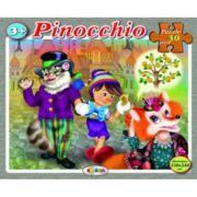 Puzzle Pinocchio imagine librariadelfin.ro