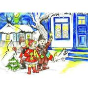 Sarbatori de iarna - Plansa educativa imagine librariadelfin.ro