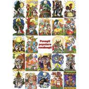 Set Povesti populare romanesti (14 povesti, 24 imagini) imagine librariadelfin.ro