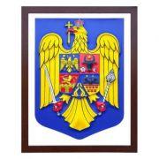 Stema Romaniei in format 3D (604x470 mm) - din PVC imagine librariadelfin.ro