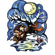 Ursul pacalit de vulpe - Plansa poveste (PP3) imagine librariadelfin.ro