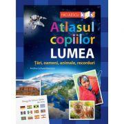Atlasul copiilor. LUMEA - Andrea Schwendemann imagine librariadelfin.ro