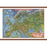 Europa harta pentru copii, cu sipci, 1000x700mm (GHECP100) imagine librariadelfin.ro
