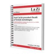 Noul Cod de procedura fiscala si Normele metodologice de aplicare. Cod 711. Actualizat la 12. 02. 2020 imagine librariadelfin.ro