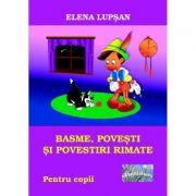 Imagine Basme, Povesti Si Povestiri Rimate - Elena Lupsan