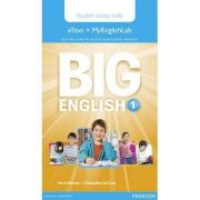 Big English 1 Pupil's eText and MEL Access Code
