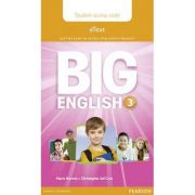 Big English 3 Pupil's eText Access Code (standalone)