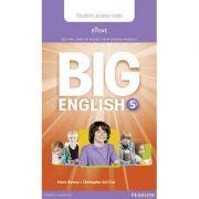 Big English 5 Pupil's eText Access Code (standalone)
