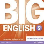 Imagine  Big English 5 Teacher's Etext Cd-rom - Mario Herrera