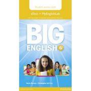 Big English 6 Pupil's eText and MEL Access Code