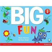 Imagine Big Fun 1 Student Book With Cd-rom - Mario Herrera