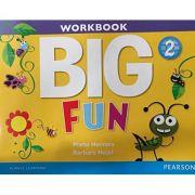 Imagine Big Fun 2 Workbook With Audio Cd - Mario Herrera
