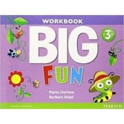 Imagine Big Fun 3 Workbook With Audiocd - Mario Herrera