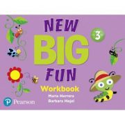 Big Fun Refresh Level 3 Workbook and Workbook Audio CD pack - Mario Herrera, Barbara Hojel