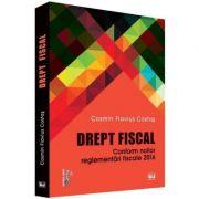 Drept fiscal. Conform noilor reglementari fiscale 2016 - Cosmin Flavius Costas imagine librariadelfin.ro