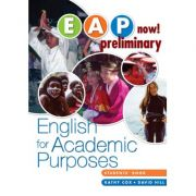 Imagine Eap Now! Preliminary Student Book - Kathy Cox, David Hill