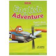 New English Adventure 1 Pupil's Book + DVD - Viv Lambert, Anne Worrall