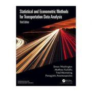 Statistical and Econometric Methods for Transportation Data - Simon Washington, Matthew G. Karlaftis, Fred Mannering, Panagiotis Anastasopoulos