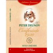 Conferinte 1920, volumul 4 - Peter Deunov