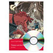 English Active Readers Level 1. Theseus & Minotaur Book + CD - Ken Beatty