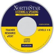 NorthStar Listening and Speaking Level 1-5 Teacher Resource eText CD-ROM