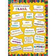 Plansa de intampinare pentru clasa pregatitoare si clasa I