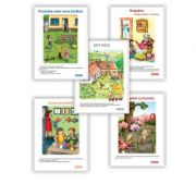 Set carti uriase, clasa pregatitoare, semestrul I imagine librariadelfin.ro