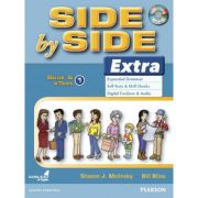 Side by Side Extra 1 Student's Book & eText with Audio CD - Steven J. Molinsky, Bill Bliss