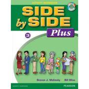 Side by Side Plus 3 Activity Workbook with Digital Audio CD - Steven J. Molinsky, Bill Bliss