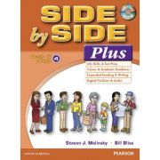 Side by Side Plus 4 Student's Book & eText with Audio CD - Steven J. Molinsky, Bill Bliss