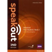 Speakout 2nd Edition AdvancedFlexi Students' Book 2 with MyEnglishLab Pack - J J Wilson