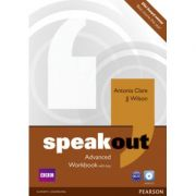 Speakout Advanced Level Workbook with Key+CD - Antonia Clare