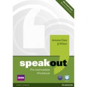 Speakout Pre-intermediate Workbook no Key and Audio CD - Antonia Clare