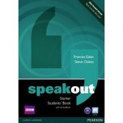 Speakout Starter Students' Book with DVD / Active Book - Steve Oakes