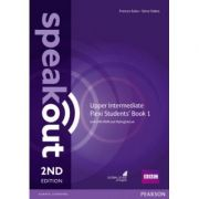 Speakout Upper Intermediate 2nd Edition Flexi Students' Book 1 with MyEnglishLab Pack - Steve Oakes